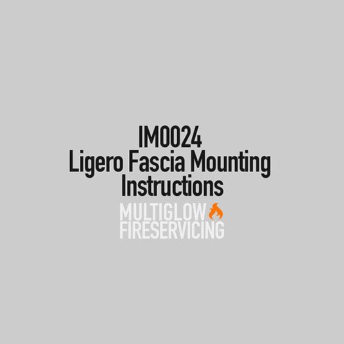 IM0024 - Ligero Fascia Mounting Instructions