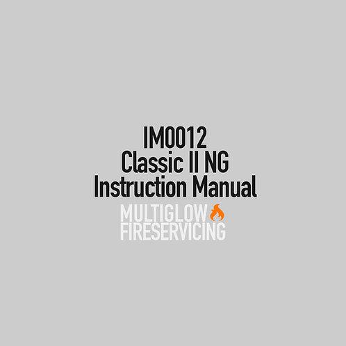 IM0012 - Classic II NG Instruction Manual