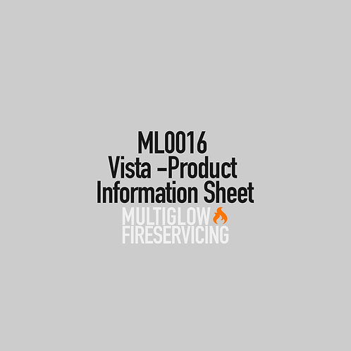 ML0016 - Vista - Product Information Sheet