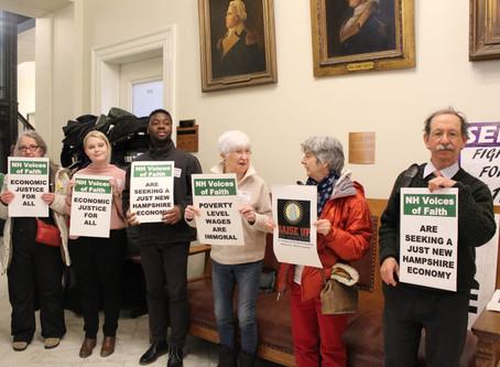 N.H. mulls minimum wage hike