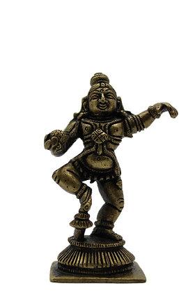 Statue Krishna  Makhan-chor Bronze N347