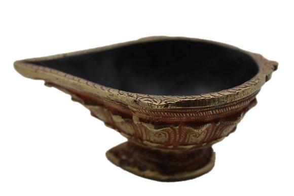 Objet Lampe Huile Bronze N394