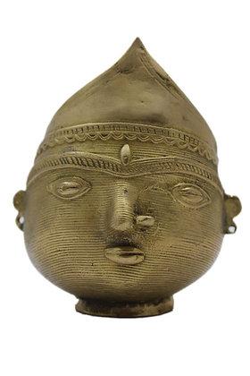Pot  bol à offrandes de riz Dhrokra Bronze N358
