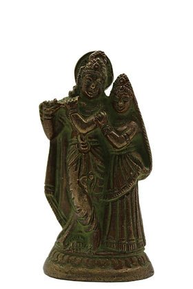 Statue Radha/Krishna Bronze N346