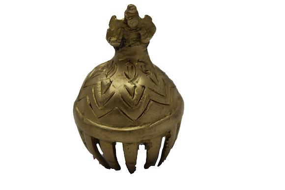 Cloche grelot Ganesh Bronze N466
