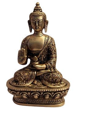 Statue Bouddha Amoghasiddhi Bronze N38