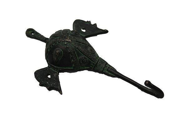 Patere Elephant Dhokra Bronze N433