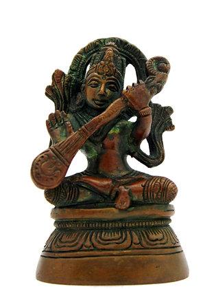 Statue Saraswati  Bronze N259