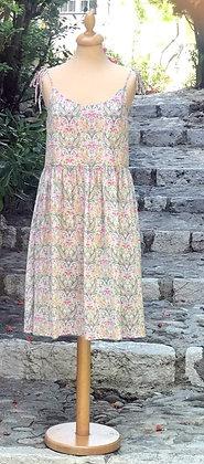 """Robe courte femme made in France """"ikebana"""""""