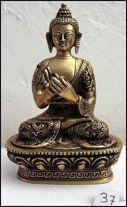 Statue Bouddha Vairocana Bronze N37