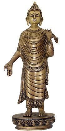 Statue Bouddha Shakyamuni Bronze N203