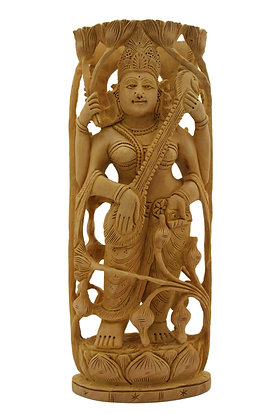 Statue Saraswati Bois N288