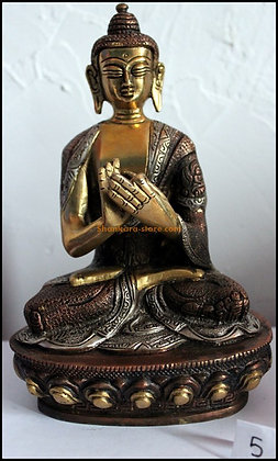 Statue Bouddha Vairocana Bronze N5