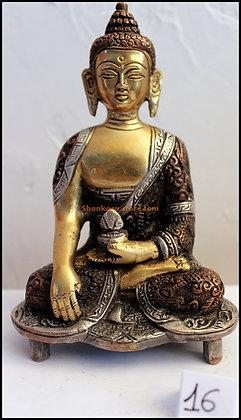 Statue Bouddha Akshobhya Bronze N16