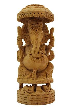 Statue Ganesh Bois N294