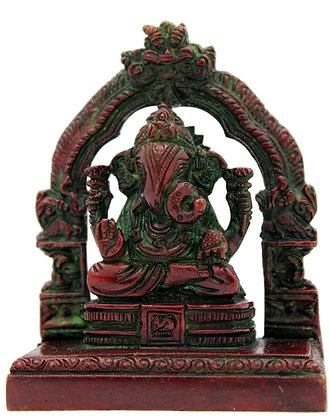 Statue Ganesh assis Bronze N 265