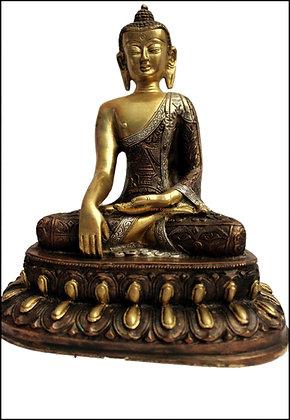 Statue Bouddha Shakyamuni/Akshobhya Bronze N53