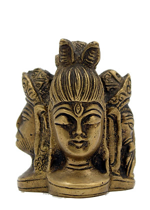 Statue Shiva Ganesh Hanuman Bronze N228