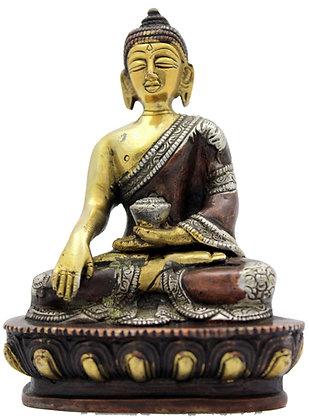 Statue Bouddha Shakyamuni Bronze N237