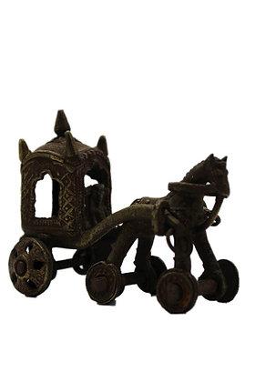 Statue Chariot Bronze N356