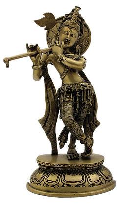 Statue Krishna  Bronze N338