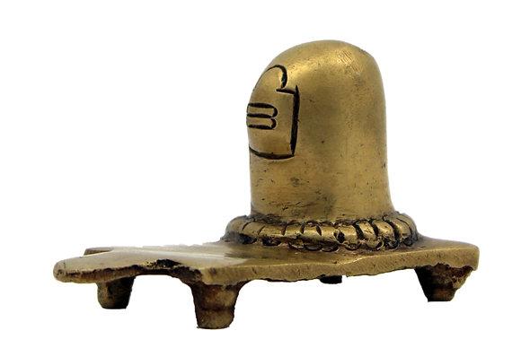 Statue  Shiva Lingam  Bronze N231