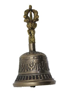 Cloche Tibétaine Ghanta Bronze N475