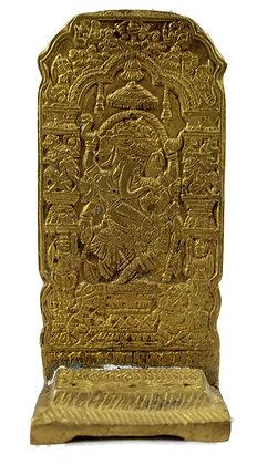 Statue  Porte encens Ganesh Bronze N421