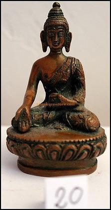 Statue Bouddha Ratnasambhava Bronze N20