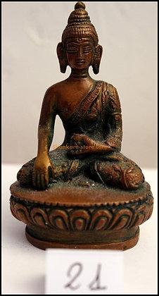 Statue Bouddha Akshobhya Bronze N21