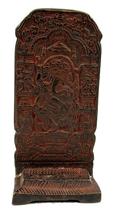 Statue Porte encens Ganesh Bronze N420