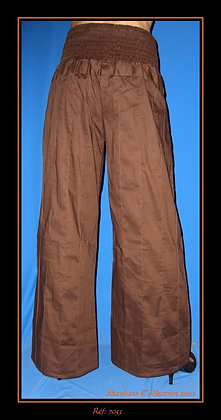 Pantalon - Marron - 7053TP