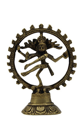 Statue Shiva Nataraja Bronze N314