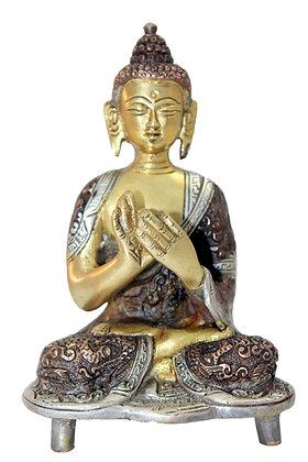 Statue BouddhaVairocana Bronze N188
