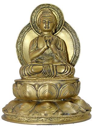 Statue Bouddha Vairocana/ Mahâvairochana,Bronze N181