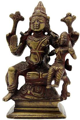 Statue Shiva /Parvati  Bronze N244