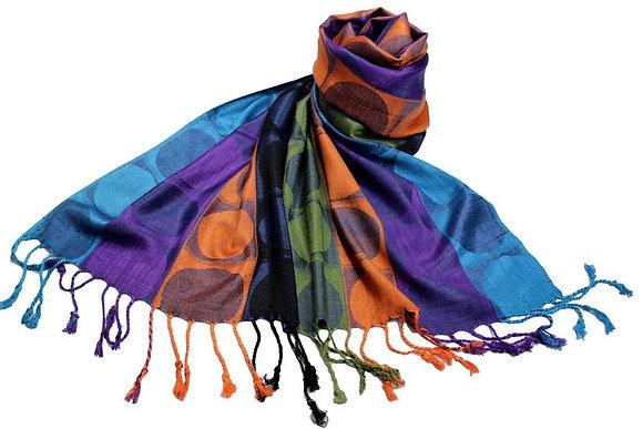 Étole Viscose Rond Multicolore  N5