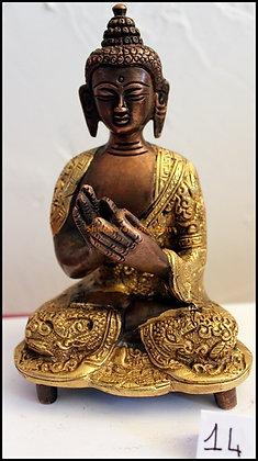 Statue Bouddha Vairocana Bronze N14