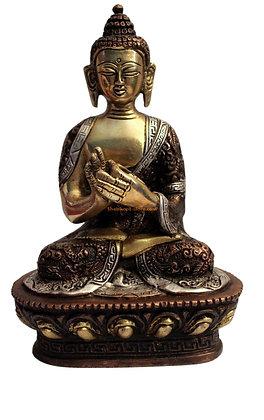 Statue Bouddha Vairocana Bronze N34