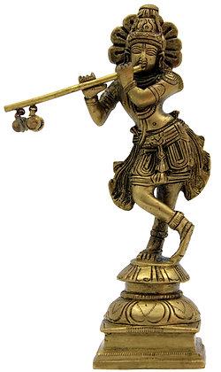 Statue Krishna Bronze N213