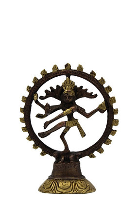 Statue Shiva Nataraja Bronze N312