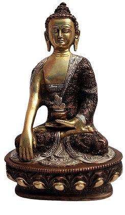 Statue Bouddha Akshobhya Bronze N52