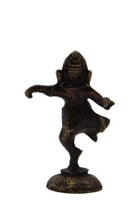 Statue Ganesh Nritya dansant Bronze N337