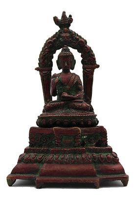 Statue Bouddha Shakyamuni Bronze N321