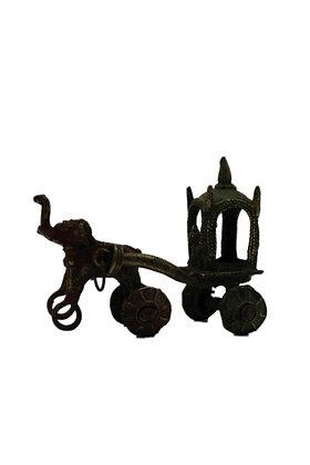 Statue Chariot Bronze N355