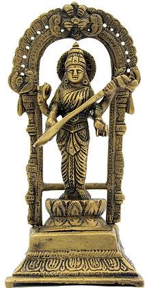 Statue Saraswati  Bronze N254