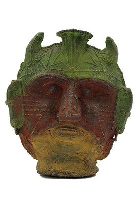 Objet Bougeoir dhokra Bronze N371