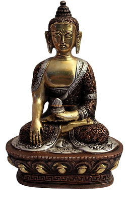 Statue Bouddha Akshobhya Bronze N30