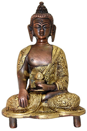 Statue Bouddha Akshobhya Bronze N187