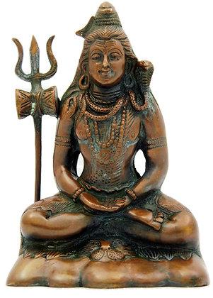 Statue Shiva  Mahayogi Bronze N230